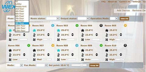 TM90-0H Hotel Intranet Management Software